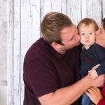 gezinsshoot met baby